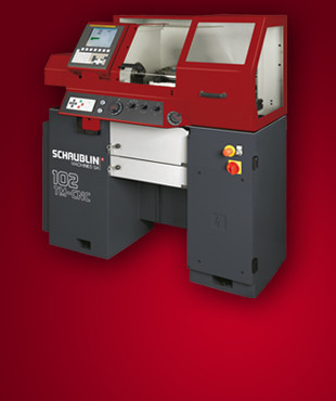 102 TM-CNC | High precision lathe with exceptional characteristics