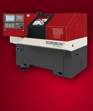 125-CCN | High precision lathe with three simultaneous axis